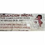 Primary education poster (mural) Batopilas, Mexico Photo Sculpture