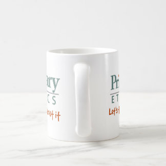 Primary Ethics coffee mug