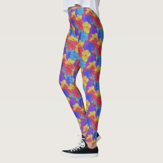 Primary Floral Yuna Leggings