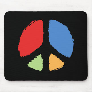 Primary Peace Mouse Pad