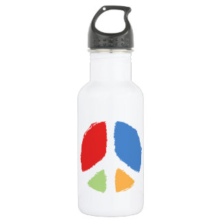 Primary Peace Water Bottle