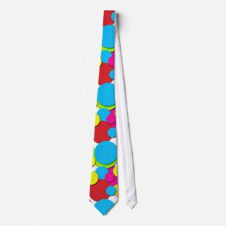Primary Polkadots Tie