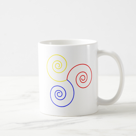 Primary Spiral of Life Coffee Mugs
