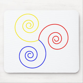 Primary Spiral of Life Mouse Pad