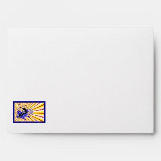 Primary Surfer Framed Envelope