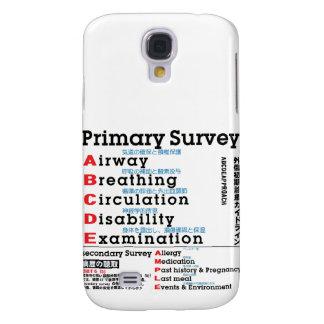 Primary Survey english japanese text Samsung Galaxy S4 Case