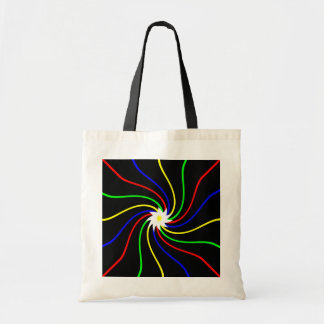 Primary Swirl Tote Bag