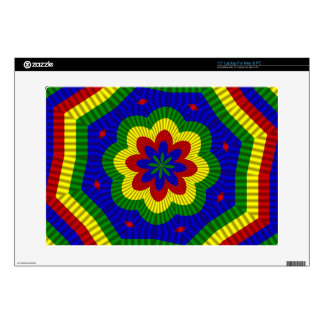 PrimaryColors Roll Flower 1-Laptop Skin 15in Decals For Laptops
