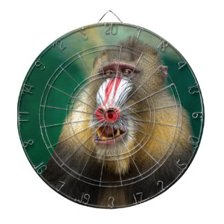 Primate Photography Dart Board