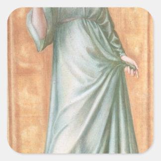 Primavera, 1869-70 pegatina cuadrada