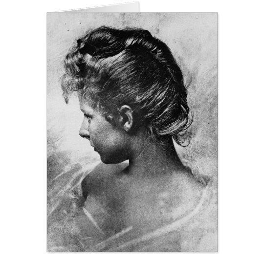 Primavera 1896 Vintage Photo Card