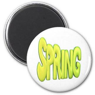 Primavera 1 imán redondo 5 cm