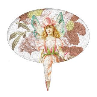Primavera 3 - Ángel del jardín Palillos De Tarta