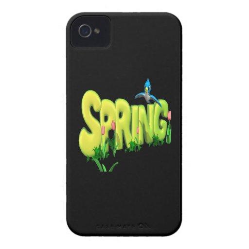 Primavera 3 iPhone 4 Case-Mate coberturas