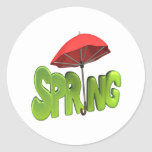 Primavera 4 pegatina