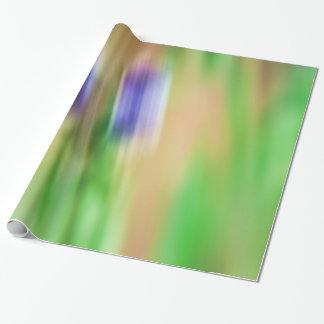 Primavera abstracta papel de regalo