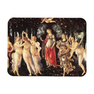 Primavera / Allegory of Spring by Botticelli Magnet