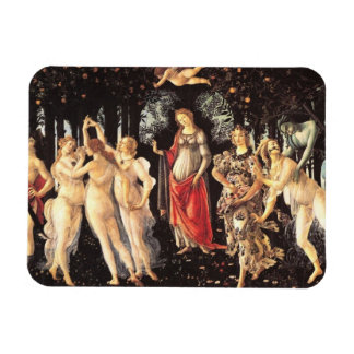 Primavera Allegory of Spring by Botticelli Vinyl Magnets