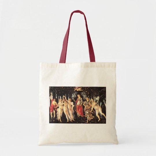 Primavera / Allegory of Spring by Botticelli Tote Bag
