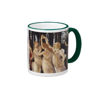 """Primavera"" and The Three Graces Ringer Mug"