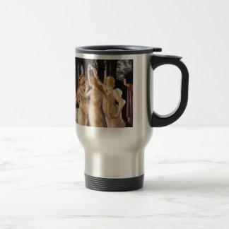 """Primavera"" and The Three Graces Travel Mug"