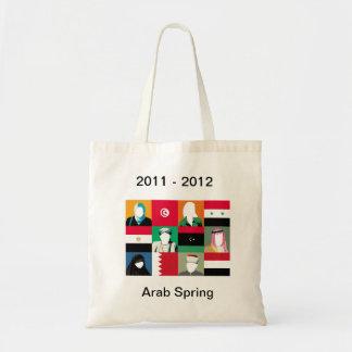 Primavera árabe bolsa tela barata