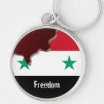 Primavera árabe de la revolución de Siria somos to Llaveros Personalizados