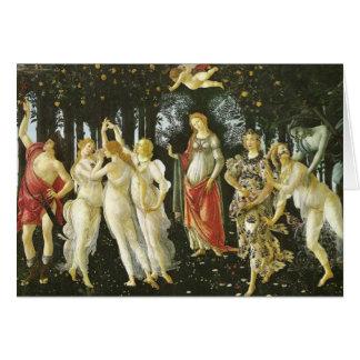 Primavera - Botticelli Card