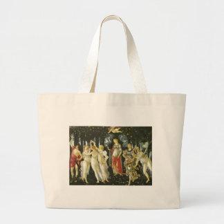 Primavera - Botticelli Large Tote Bag