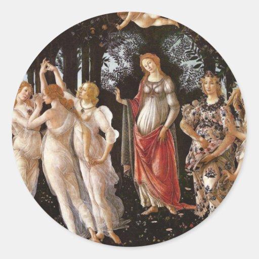 Primavera, Botticelli Pegatinas