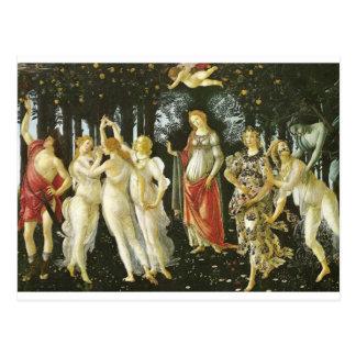 Primavera - Botticelli Postcard