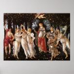 Primavera, Botticelli Posters