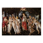 Primavera, Botticelli Print