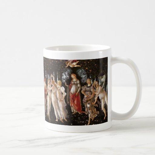 Primavera, Botticelli Taza De Café