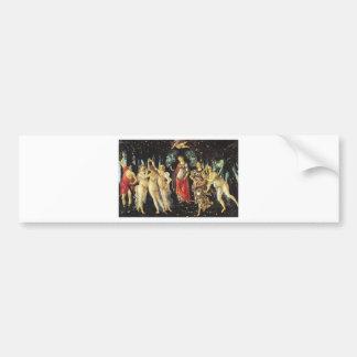 Primavera by Sandro Botticelli Car Bumper Sticker