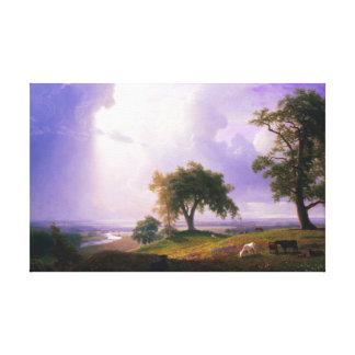 Primavera de Bierstadt California Impresión En Lienzo Estirada