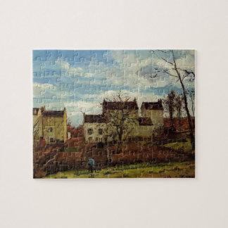 Primavera de Camilo Pissarro- en Pontoise Puzzles Con Fotos