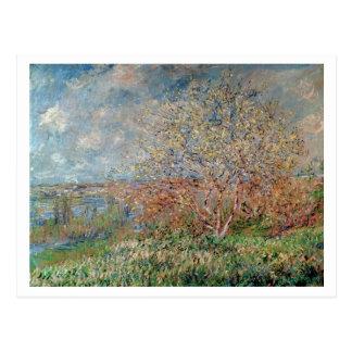 Primavera de Claude Monet el | Postales