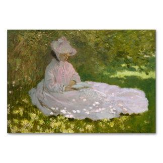 Primavera de Claude Monet