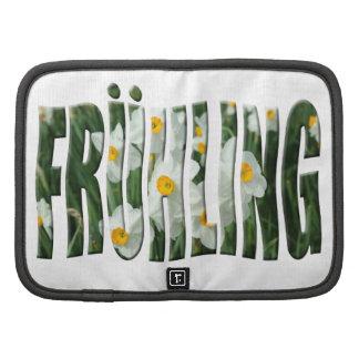 Primavera de Frühling con los narcisos