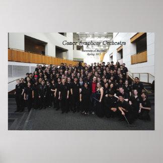 Primavera de GSO de 'foto 13 grupos (suplente) Póster