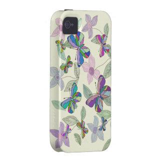 Primavera de la mariposa Case-Mate iPhone 4 carcasa