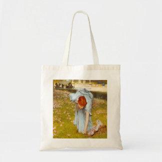 Primavera de Lorenzo Alma Tadema en el jardín