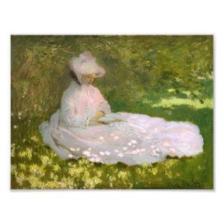 Primavera de Monet Fotografia