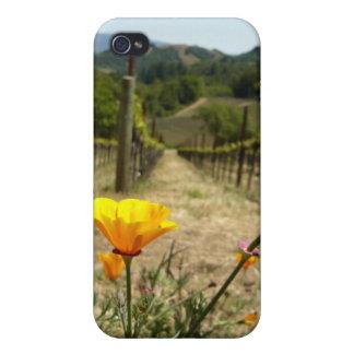 Primavera de Napa Valley iPhone 4 Carcasas