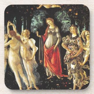 Primavera de Sandro Botticelli Posavasos De Bebida
