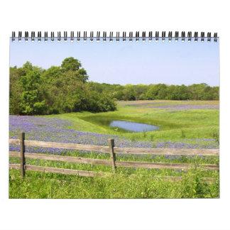 Primavera de Tejas Calendarios