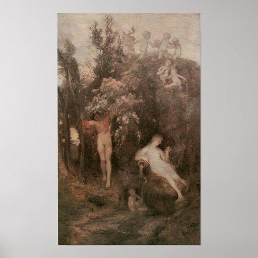 Primavera del amor, 1868-69 posters