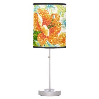 primavera del Chispa-efecto floral Lámpara De Mesa