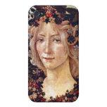 Primavera, detail Flora, Botticelli c. 1482 iPhone 4 Case